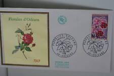 ENVELOPPE PREMIER JOUR 1967 FLORALIES D'ORLEANS