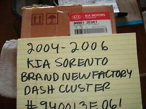2004-2006 KIA SORENTO BRAND NEW FACTORY OEM DASH CLUSTER 940013E061 FREE SHIPPIN