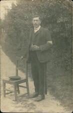 Gentleman, Germany, by Anton Mohn, Nienburg - Weser, photo pc, uniform  L1802