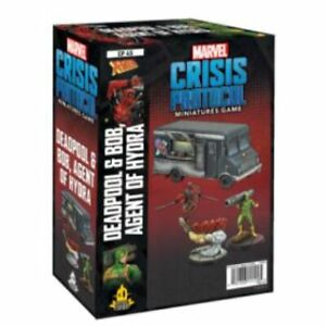 Marvel Crisis Protocol:Deadpool & Bob & Taco Truck Character Pack May 7 PreOrder