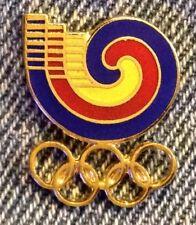 1988 Olympic Pin ~ Seoul Korea ~ Logo Cut-Out ~ Unused on Card by HoHo NYC