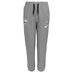 Nike NBA Youth (8-20) Golden State Warriors Heathered Grey Showtime Pants