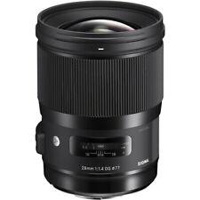Sigma 28mm F1.4 DG HSM Art Lens for Nikon F Stock from EU Nuevo
