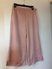 Guess Los Angeles Bonita Pant M 100%Polyester/Viscose Dusty Pink -as it is.