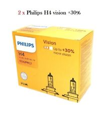2x Philips H4 60/55W 12V P43t 12342PRC2 Klar Weiß Vision +30% Halogen Auto Birne