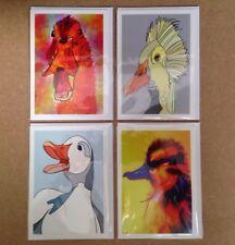 Duck Selfie cartes de vœux par Keith BROWNING/Pack de 4 - 7x5-blanc intérieur