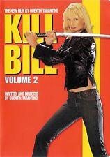 Kill Bill Volume 2 ~ Uma Thurman Daryl Hannah ~ DVD WS dts ~ FREE Shipping USA