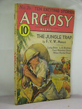 Argosy Weekly Nov 26 1932,A Merritt Burn Witch6/6,L Brent,C Dingle,Mason,Rouse,+