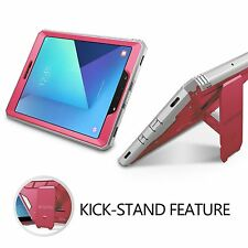 POETIC Revolution Pink Case【Built-In Screen】For Samsung Galaxy Tab