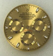 ROLEX DAYTONA ALL GOLDEN DIAL FOR GOLD OR TWO TONE MODELS CUSTOM MADE