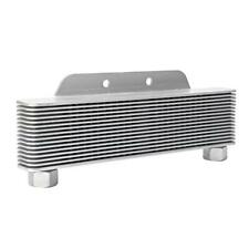 Universal Alloy Motorcycle Engine Transmission Oil Cooler 238mm 15-Row Accessory