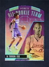 2017-18 Essentials Kobe's All-Rookie Team Die-Cut #KRT-4 De'Aaron Fox SSP