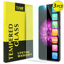 [3-Pack] TJS For Samsung Galaxy A51 5G/4G Clear Tempered Glass Screen Protector