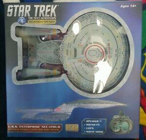 Star Trek TNG U.S.S. Enterprise NCC-1701-D Bluetooth Speaker LED & Sleep Machine