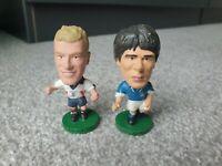 Corinthian Prostars World Cup 1998 Alan Shearer (England) & Zola (Italy)