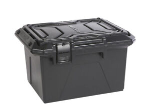 Plano Heavy Duty Tactical Series Water Resistant Pistol Rifle Ammo Crate - Black