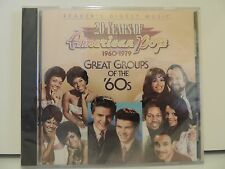 SEALED ! Great Groups of the 60's CD 20 Years of American Pops 1960-79