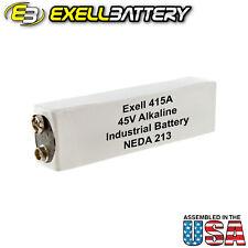Exell Battery 415A Eveready B102, IEC 30F20, NEDA 213, ANSI 213, BURGESS U30
