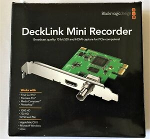BLACKMAGIC DECKLINK MINI RECORDER