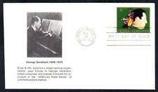 JUDAICA Famous Jewish Composer GEORGE GERSHWIN Stamp First Day Cover FDC (1574)