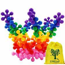 Emido Building Blocks Kids Educational Toys Stem Toys Building Discs Sets Interl