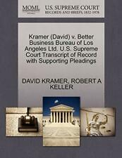 Kramer (David) v. Better Business Bureau of Los, KRAMER, DAVID,,
