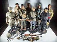 """Sideshow Collectibles 12"""" High Detail World War 2 Soldier Officer LOT"""