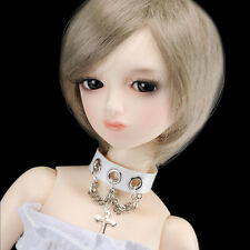 DOLLMORE BJD Necklace NEW MSD & Model doll - Cross Echo Choker (White ; Only Fo