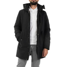 Parka Uomo WOOLRICH 'Stretch Mountain Parka' Nero WOCPS2884100