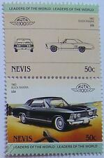 1963 BUICK RIVIERA Car Stamps (Leaders of the World / Auto 100)