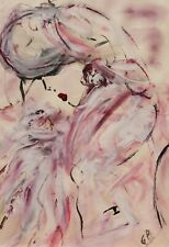 Georgio BENAYOUN Composition Abstraite tableau peinture abstraction art abstrait