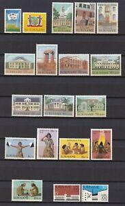 Surinam 1960/74 - Lot aus Mi.-Nr. 382-681 postfrisch (MNH)