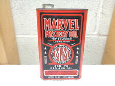 MARVEL MYSTERY OIL Top Cylinder Lubrication Can~32 Oz.~New!