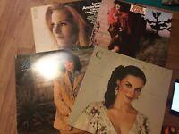 Country (Women) LP Lot: Crystal Gayle/ Lynn Anderson/ Holly Dunn..Vinyl VG+-EX