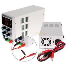 30V 10A Variable DC Regulated Power Supply Digital Adjustable Lab Grade 110/220V