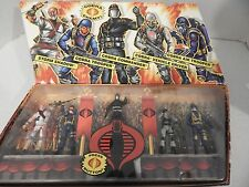 GI JOE ~ 2007 COBRA LEGIONS ~ 5 FIGURE BOX SET ~ STINGER DRIVER, STORM SHADOW