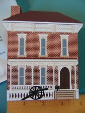 Fj Designs The Cat's Meow Village 1997 Collector's Club Edition, Sherman Home