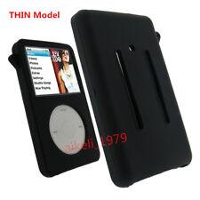 NEW Black Silicone Skin Cover Case For iPod Video 30GB Classic 80GB/120GB/160GB