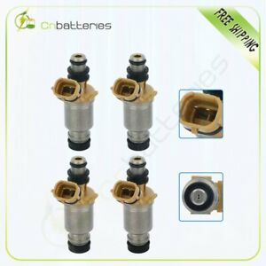4 Fuel Injectors For Toyota Corolla Geo Prizm 1.6L 1993 1994 1995 1996 1997