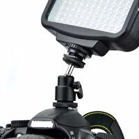 1/4 Inch Black Ball Head Bracket/Holder/Mount For Camera Tripod  Shoe Adapter