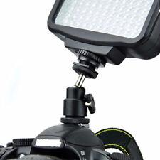 "1/4""Black Ball Head Bracket/Holder/Mount-For Camera-Tripod hot Shoe Adapter NEW"