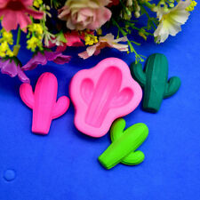 Cute Cactus Sugarcraft Fondant Cake Silicone Mold Cookies Mould DIY Baking Tools