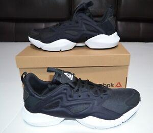 Reebok Sole Fury Adapt Running Black/ White Shoes Size US 10 NEW