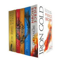 The Red Rising Series Collection 5 Books Set By Pierce Brown (Red Rising,Golden)