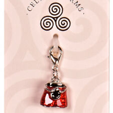 KILT CHARM Bracelet Clip Celtic Scottish Silver GIFT Necklace Keys Pandora Xmas