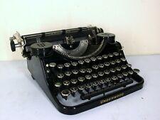 Vintage 1930's Underwood Universal Portable Typewriter