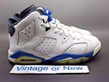 c5ea67473318 Nike Air Jordan VI 6 Sport Blue Retro BG 2014 sz 3.5Y