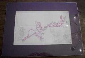 B8193: 1950's Disney Peter Pan, Captain Hook Drawing