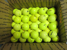 GOLF BALLS-(219) YELLOW MIXED BALLS..NON TOUR BALLS.MINT/NEAR MINT! NO REFURBISH