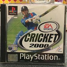 CRICKET 2000 PS1 PLAYSTATION 1